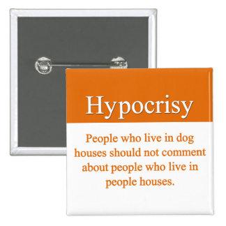 Hypocrisy Button