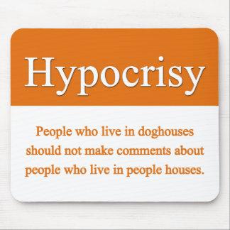 Hypocrisy Mousepad