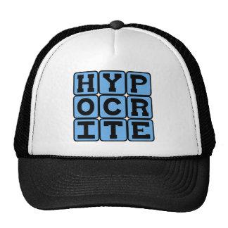 Hypocrite, Liar Mesh Hat