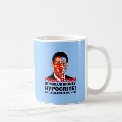 hypocrite Paul Ryan Coffee Mug