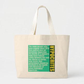 Hypocrites Canvas Bags