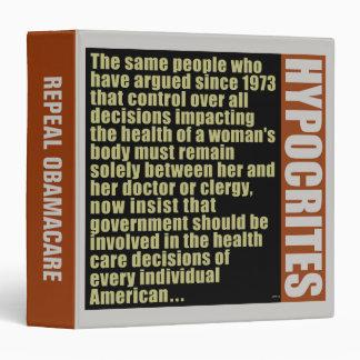 Hypocrites Binder