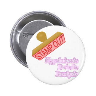 Hypokalemic Periodic Paralysis Pinback Button
