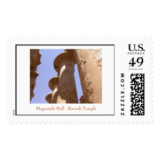 Hypostyle Hall - Karnak Temple Stamp