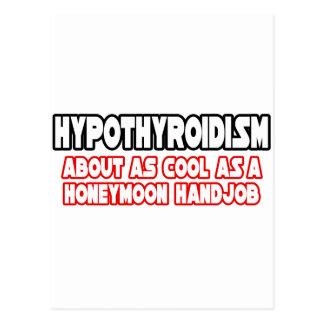 Hypothyroidism...Not Cool Postcard