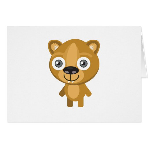 Hyrax - My Conservation Park Greeting Card