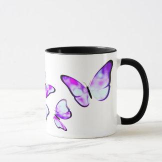Hyriopsis Pearl Look Butterfly Mug