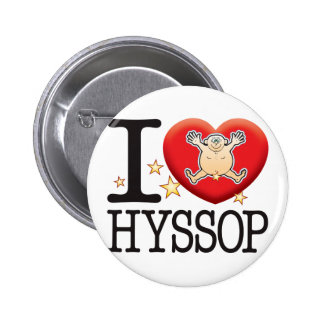 Hyssop Love Man Pinback Button
