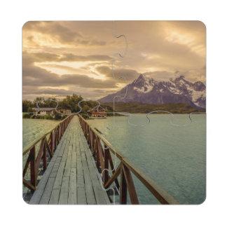 Hysteria Pehoe. Cordillera del Paine Puzzle Coaster