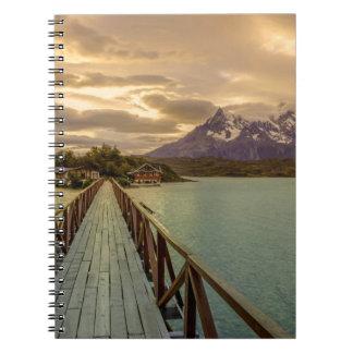 Hysteria Pehoe. Cordillera del Paine Spiral Notebook