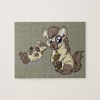 Hysterical Hyena! Jigsaw Puzzle