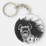 Hysterical Hyena Keychains