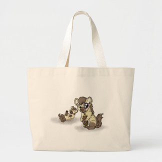 Hysterical Hyena! Large Tote Bag