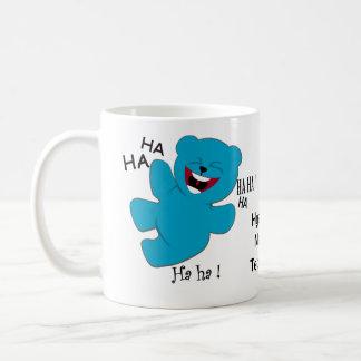 Hysterical, ManiacalTeddy Bear Classic White Coffee Mug