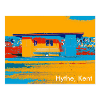 Hythe seafront postcard