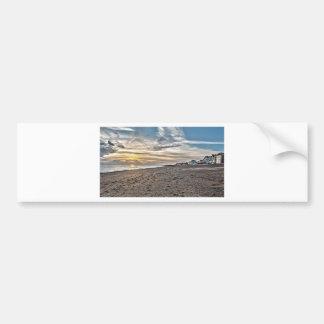 Hythe Sunset, Kent Car Bumper Sticker