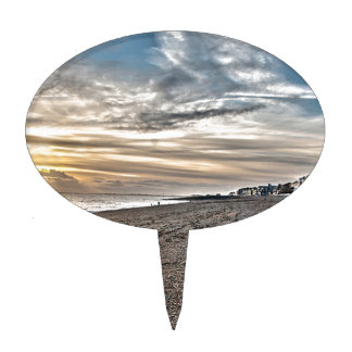 Hythe Sunset, Kent Cake Toppers