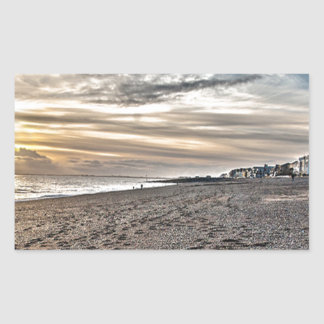 Hythe Sunset, Kent Rectangular Sticker