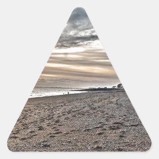 Hythe Sunset, Kent Triangle Sticker
