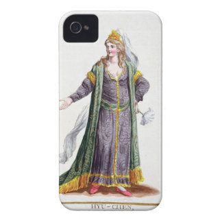 Hyu-Chen, wife of Genghis Khan, from 'Receuil des iPhone 4 Cover