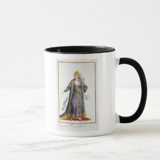 Hyu-Chen, wife of Genghis Khan, from 'Receuil des Mug