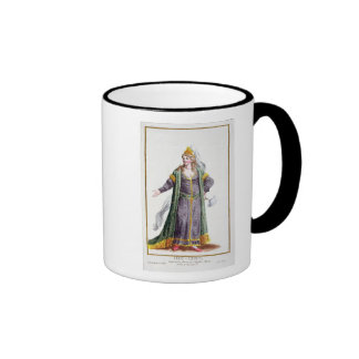 Hyu-Chen, wife of Genghis Khan, from 'Receuil des Coffee Mugs