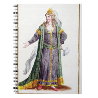 Hyu-Chen, wife of Genghis Khan, from 'Receuil des Notebook