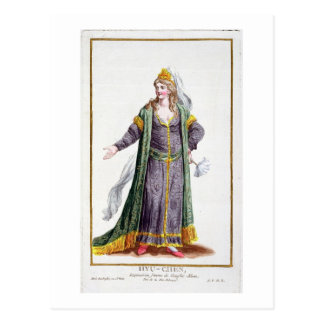 Hyu-Chen, wife of Genghis Khan, from 'Receuil des Postcard