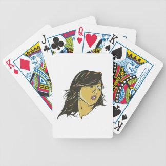 Hyuna Bicycle Playing Cards