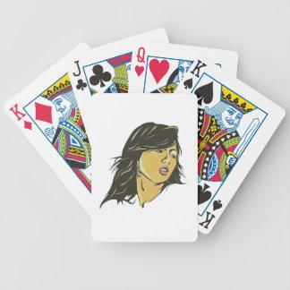 Hyuna Bicycle Playing Cards