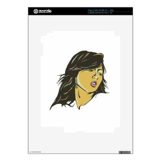 Hyuna Decal For The iPad 2