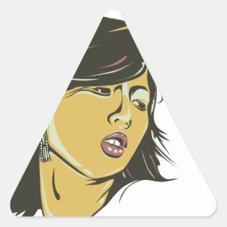 Hyuna Triangle Sticker