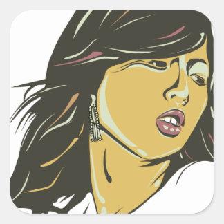 Hyuna Square Sticker