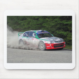 Hyundai Accent WRC Rally Car Mouse Pad