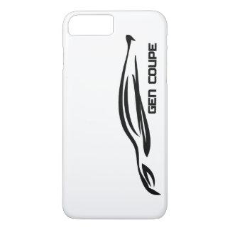 Hyundai Genesis Coupe Black Silhouette Logo iPhone 8 Plus/7 Plus Case