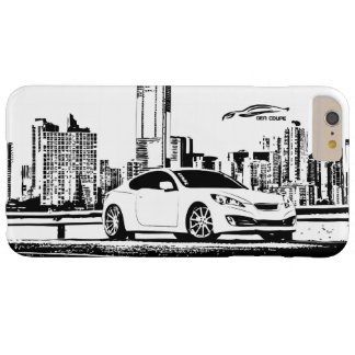 Hyundai Genesis Coupe with City Backdrop Barely There iPhone 6 Plus Case
