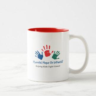 Hyundai Hope On Wheels Red Mug