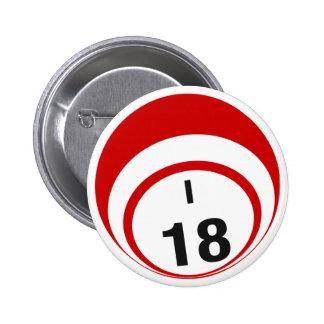 I18 Bingo Ball button