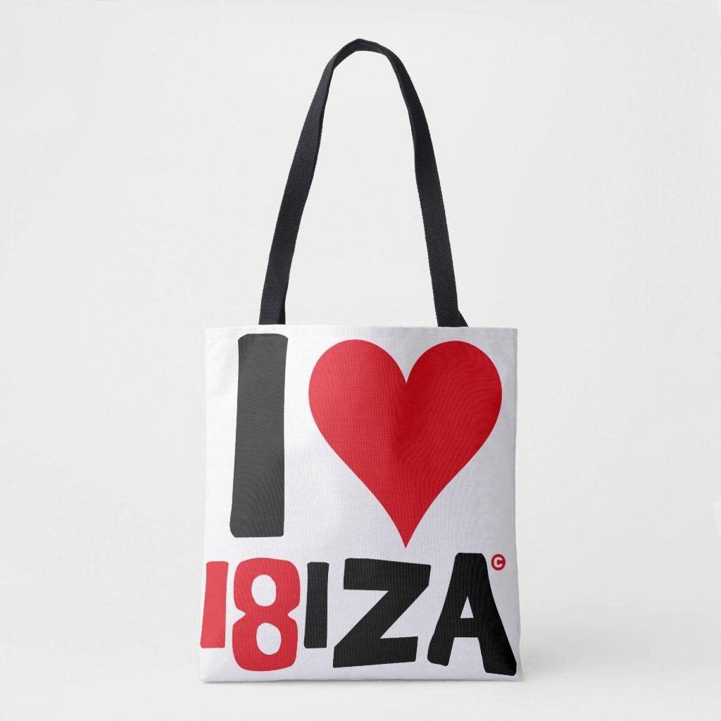 I18IZA SUMMER IBIZA 2018 EDITION BOLSA DE TELA