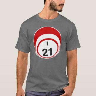I21 bingo ball shirt