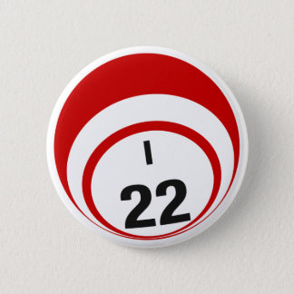 I22 Bingo Ball button