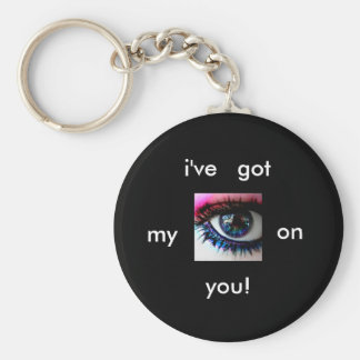 i233867657_76699_2, i've, got, my, on, you! basic round button keychain