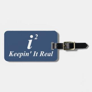 i2 Keepin' It Real Travel Bag Tags