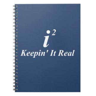 i2 que lo mantiene real libros de apuntes con espiral