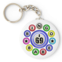 I69 Bingo Babe Keychains