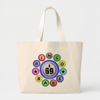 I69 Bingo Babe Large Tote Bag