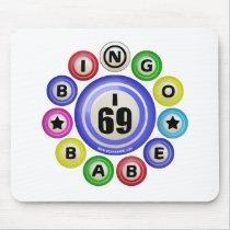 I69 Bingo Babe Mousepads