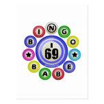 I69 Bingo Babe Postcard