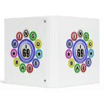 I69 Bingo Babe Vinyl Binders