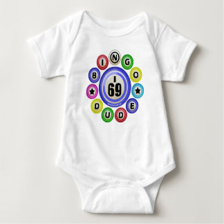 I69 Bingo Dude Baby Bodysuit